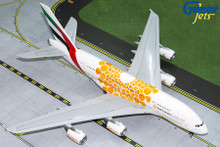 Gemini200 EMIRATES A380-800 (Orange Expo 2020) A6-EOU G2UAE758 1:200