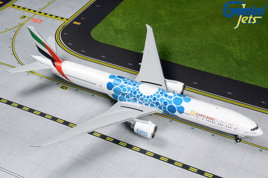 Gemini200 Emirates B777-300ER A6-EPK (Expo 2020 Blue Bubbles) G2UAE776 1:200