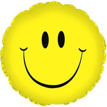 "Smiley Face 18"" Foil Balloon"