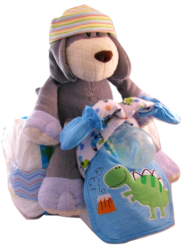 Diaper Cake, Motorcycle diaper cake Delivery in Anchorage, Alaska