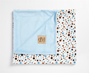 Multi Bubbles Blanket Blue