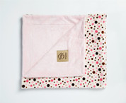 Multi Bubbles Blanket Pink
