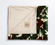 Camouflage Blanket Green