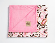 Perfect Paisley Blanket Pink
