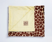 Safari Blanket Giraffe Yellow