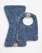 Blue Bones Bib & Burpie Set