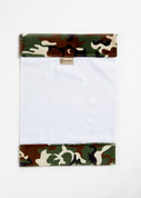 Camoflage Green Burp Cloth