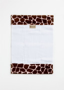 Cheetah Burp Cloth BURP_GIRAFFE_SAFARIPNK01
