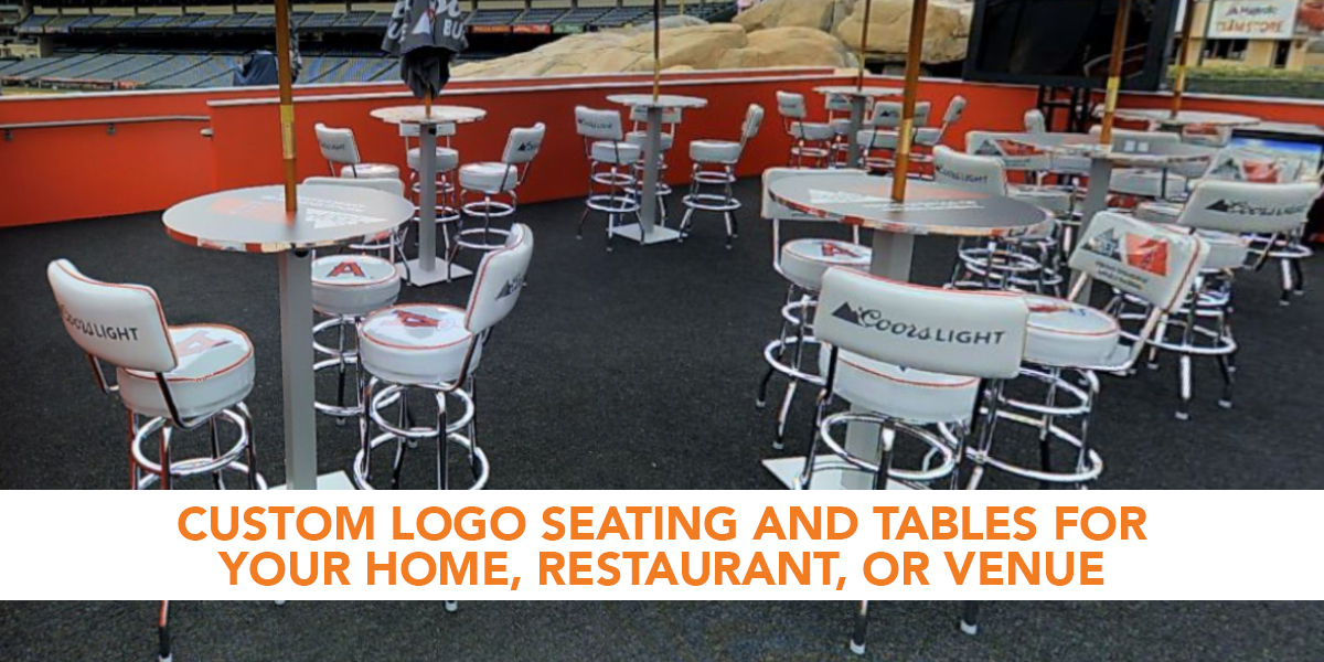Custom Upholstered Seats Breuer Chairs Logo Bar Stools