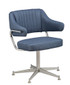 Padded Arm Bucket Chair 1, 5-legged chair base | Seats and Stools