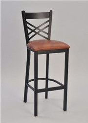 Crosshatch Bar Stool by Seats and Stools