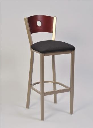 Astounding Slot Back Bar Stool Onthecornerstone Fun Painted Chair Ideas Images Onthecornerstoneorg