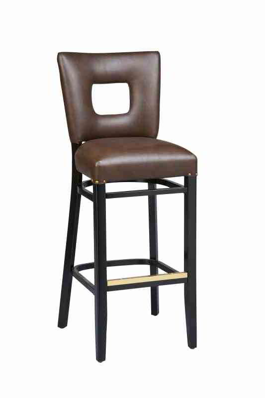 Our Jade Open Back Bar Stool Is Made From Solid Beechwood And Is Built To  Withstand