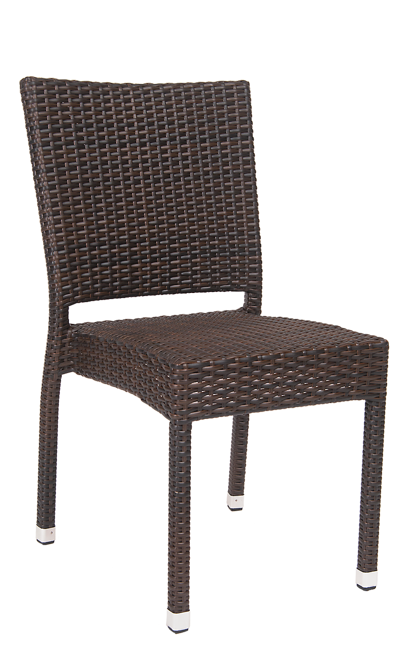 Brown Wicker Patio Furniture.Logan Wicker Outdoor Chair