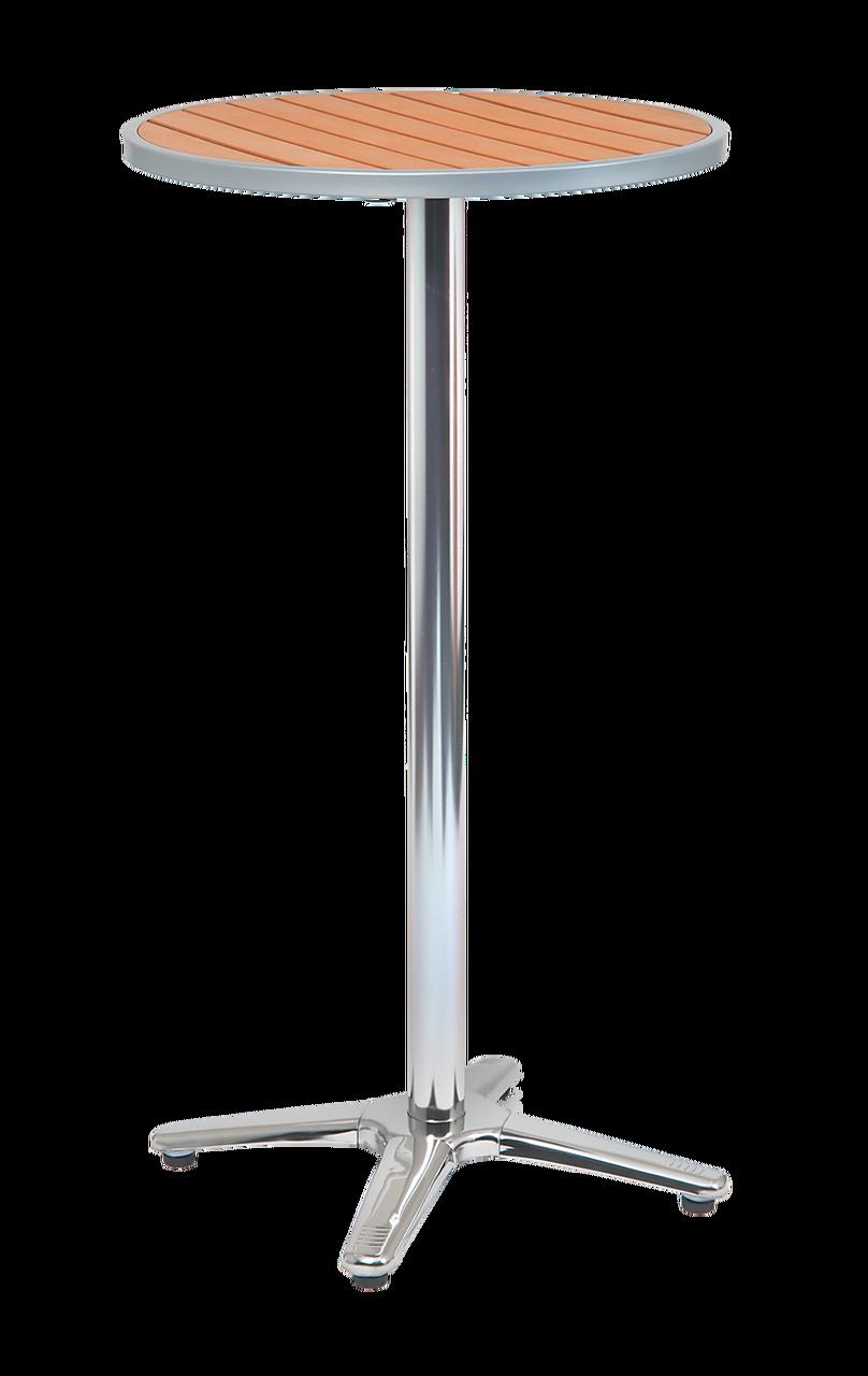 Tall Round Bar Table Outdoor Aluminum Bar Table