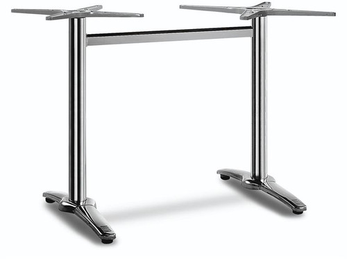 Harrison aluminum table base, for ALP-series table tops only.