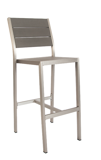 Tremendous Argyle Outdoor Aluminum Bar Stool No Arms Andrewgaddart Wooden Chair Designs For Living Room Andrewgaddartcom