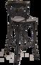 Cross Back Bar Stool | Seats and Stools