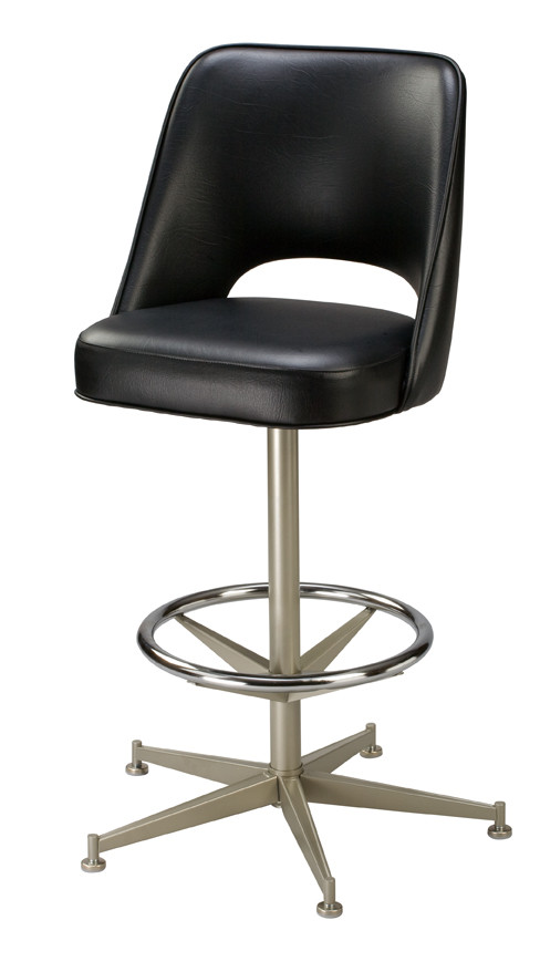 Open Back Bar Stool Open Back Counter Stool