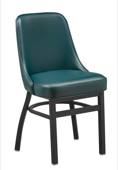 Curved Bucket Chair with commercial-grade base | Seats and Stools