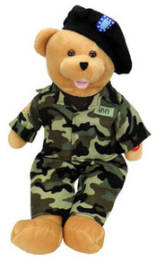 A United States Army Singing Bear