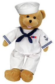 A United States Navy Bear Singing Bear