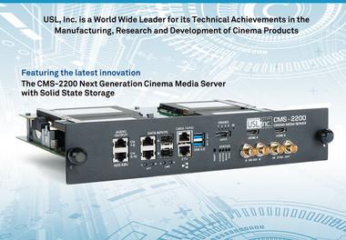 Ultra Stereo (USL) CMS-2200 Cinema Media Server