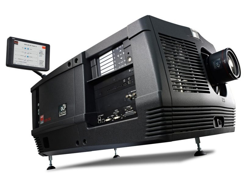 Barco DP2K-20C Compact Digital Cinema Projector for screens up to