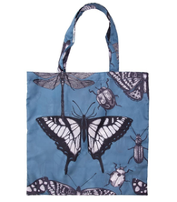 Foldable Shopping Bag - Butterflies and Beetles