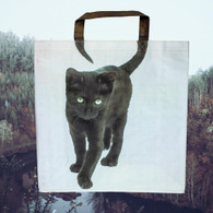 Pussycat Shopping Bag - Black Cat