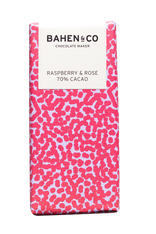 Bahen and Co Chocolate - Raspberry Rose 70%