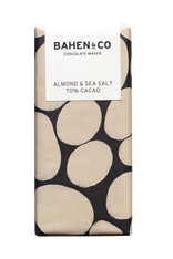 Bahen and Co Chocolate - Almond Sea Salt 70%