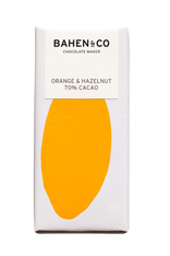 Bahen and Co Chocolate - Orange & Hazelnut 70%