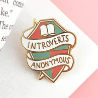 Jubly Umph Lapel Pin - Introverts Anonymous