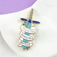 Jubly Umph Lapel Pin - Fighting Invisible Battles