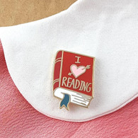 Jubly Umph Lapel Pin - I (heart) Reading