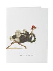 Tokyo Milk Greeting Card - 'Christmas' Fa La La
