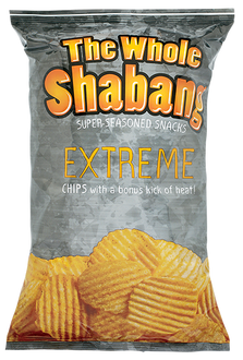 Whole Shabang EXTREME Rippled Chips