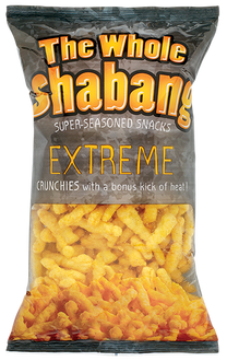 Whole Shabang EXTREME Crunchies (6 Pack only)