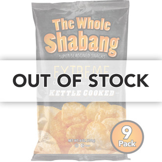 The Whole Shabang Extreme Kettle Cooked Potato Chips (9 pack)