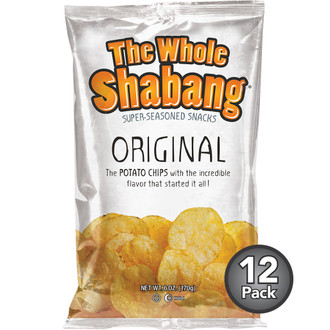 The Whole Shabang Original Potato Chips (12 Pack)