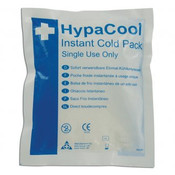 HypaCool Compact Instant Ice Packs are designed to provide quick and mess free cold therapy treatment in the acute stages of sports injuries and muscle or joint injuries.  Instant ice packs are do not need any pre-cooling prior to use as they are activated simply by squeezing the pack.  The compact size of HypaCool Compact Instant Ice Packs makes them ideal for adding to a first aid kit or just keeping handy in case of an injury whilst still delivering effective cooling therapy.  Cold therapy is most effective when used immediately after injury and for the first 48 hours.  It is used in the first stage of an injury to slow down the blood flowing into an injured area, thereby reducing the swelling. The Cold Packs are single use only, easily disposable and deliver a cost effective way of providing cold treatment to those in need of first aid.  They are designed with a special cushioned pad to ensure that there is no painful rubbing when the pack is applied to the injury.