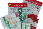 Each refill kit is supplied with a range of products designed to provide effective treatment of burn injuries.