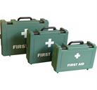 British Standard Compliant First Aid Kits  Available in small, medium and large