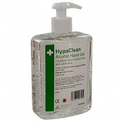 500ml pump bottle No need to wash hands after use Kills 99.9% of bacteria