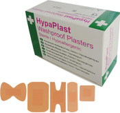 Washproof Plasters Finger Extension HypaPlast Pink