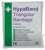 Calico Triangular Bandages