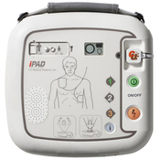 *** Special offer ***  IPAD SP1 automatic Defibrillator (AED) unit 2x Electrode pads 1x Carry case 1x Starter kit 1x Defibrillator (AED) training session for up to 10 people  The IPAD SP1 converts easily from Adult to Paediatric output with the flick of a switch making the ideal unit for a school environment  28 day Deliver time - however most are dispatched before this period