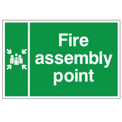 Fire Action Notice - Assembly Point Sign