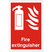 Extinguisher Point Sign